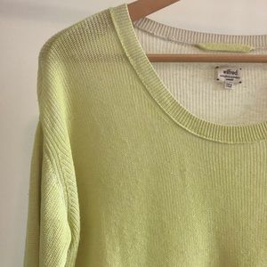 Wilfred Silk and Cashmere Sweater